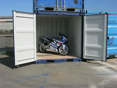 NEW 8ft Shipping Container For Sale Secure Bike Shed portable site cabin store