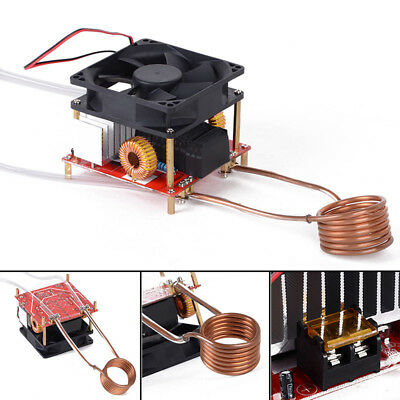 20A ZVS Induction Heating Board Flyback Driver Heater DIY Cooker w/Ignition Coil