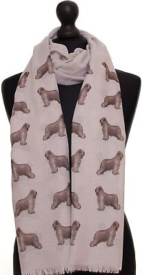 UK BLUE Corgi dog show breed print women scarf printed designer fashion wrap