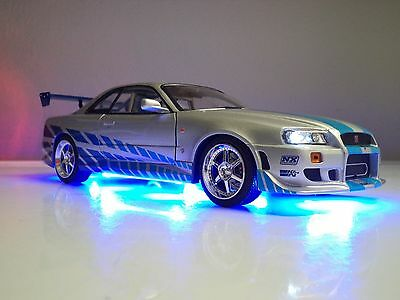 2 Fast Furious Paul Walker 1 18 Nissan Skyline Brians GT