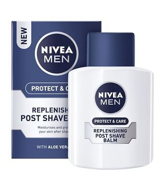 Nivea Replenishing Post Shave Aftershave Balm Protect & Care Single & Multipacks