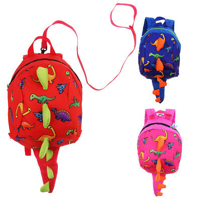 Baby Toddler Safety Anti-lost Harness Walking Leash Strap Cartoon Backpack