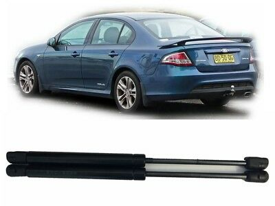 Gas Struts Ford Falcon FG model boot WITH spoiler Mk1 Mk2  XR6 XR8 2008 to 2014