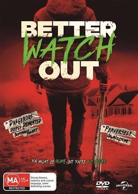 Better Watch Out Dvd, New & Sealed, Region 4, 2018 Release Free Post