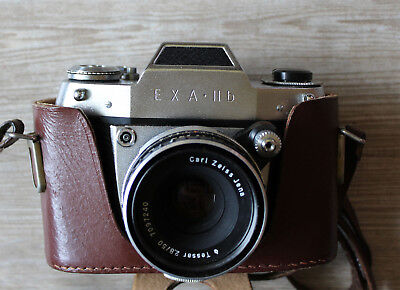 Camera Exa II B with Tessar 2,8/50 Carl Zeiss Jena