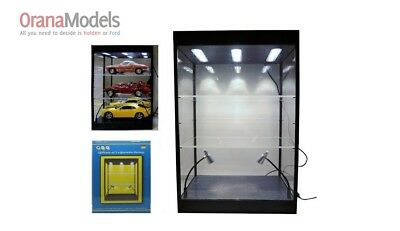 Display Case Large LED w/2 Adjustable Shelves  -  KC9927
