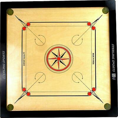 New High Quality Carrom Board Game Large Size 83cm x 83cm Great for Family Fun