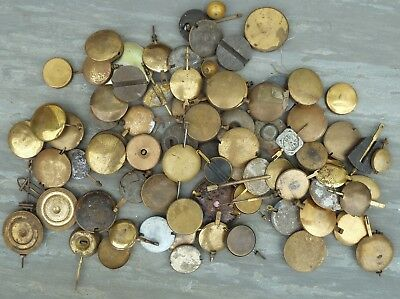 Job Lot Of Mantle Clock Pendulums