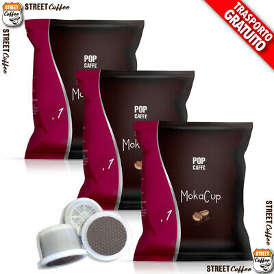 100 CAPSULE CAFFE POP MISCELA 1 INTENSO UNOSYSTEM UNO SYSTEM ILLY KIMBO gratis