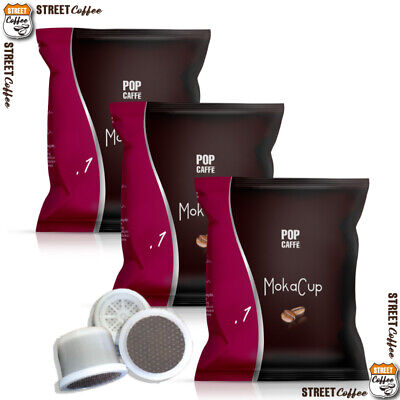 100 CAPSULE CIALDE CAFFE POP Caffè 1 INTENSO UNOSYSTEM UNO SYSTEM ILLY KIMBO