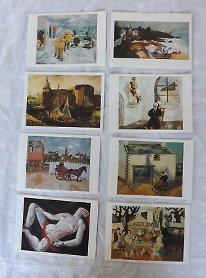 25 Art Postcards Paintings By Christopher Wood 8 Different NEW PC369