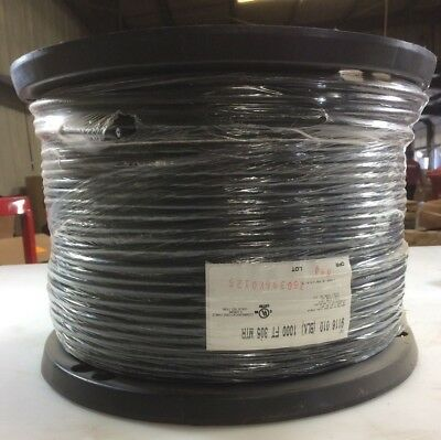 Belden 1000 ft Black Cable 9116010