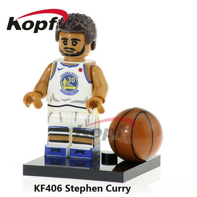 Lego Bloques Nba Stephen Curry Golden State Warriors 30 KF406