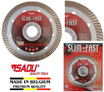 Porcelain Tile Cutting Diamond Blade Disc Thin Turbo 115mm 4.5in Angle Grinder