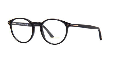 Authentic Tom Ford Eyeglasses TF5524 001 Black  Frames 49MM Rx-ABLE