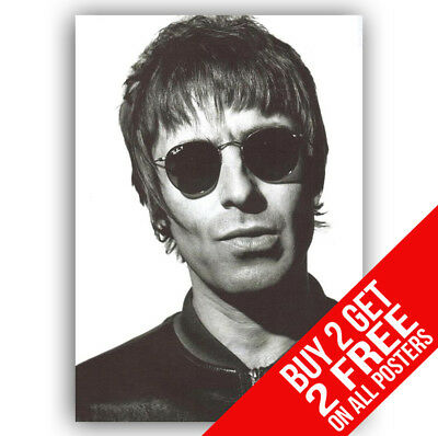 Liam Gallagher Oasis Bb6 Poster A4 / A3 Size - Buy 2 Get Any 2 Free