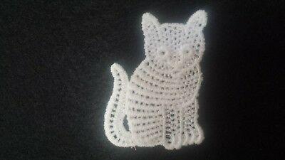 Cat embroidery motif New