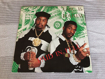 Eric B. & Rakim: Paid In Full Original-LP 1987
