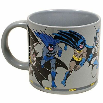 DC Comics Batman Through the Years Mug - Gift Coffee Cup - New From Manufacturer