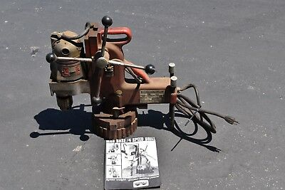 """Milwaukee Adjustable Position Electromagnetic Drill Press with 3/4"""" Motor"""