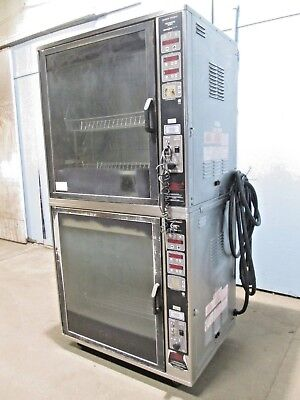 """henny Penny-Scr 8"" Hd Commercial Dbl. Stacked Electric Chix/rib Rotisserie Oven"