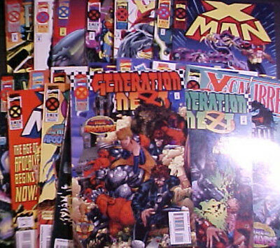 Lot Of 21 X-Men: The Age Of Apocalypse Issues!! Near Complete-1995 Marvel Comics