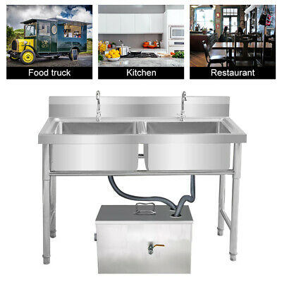 Stainless Steel Grease Trap Interceptor For Restaurant Grease Recovery Device