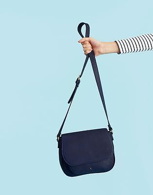 Joules Darby Bright Saddle Bag in FRENCH NAVY in One Size