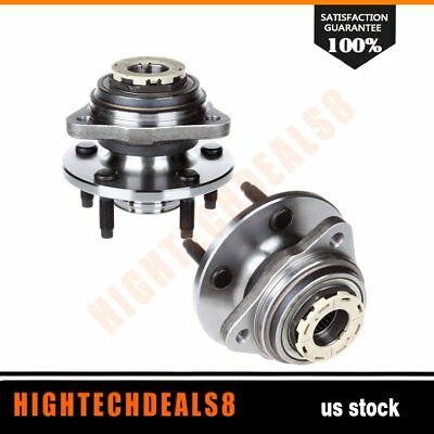 Front Wheel Hub /& Bearing for 98-00 Ford Ranger Pickup Truck 4WD 4x4 w//Rear ABS