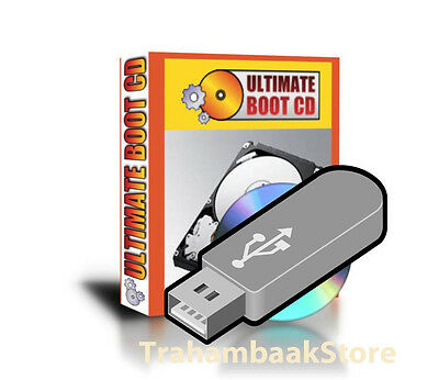 Ultimate Bootable 16GB USB - Recover lost data, Repair Windows PC