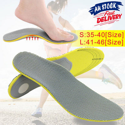 Orthotic Arch Orthopedic Support Pads Pain Relief Flat Foot Sports  Insoles