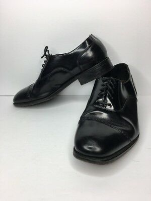 Florsheim Lexington Black Leather Cap Toe Mens 10D  17067-01 Dress Oxford  Shoe f1c25148b00
