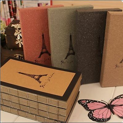 Vintage style Journal diary notebook hardcover memory travel size 128 pages