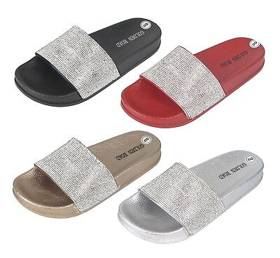 8bcf46527805 WOMEN S SLIDE SANDALS Rubber