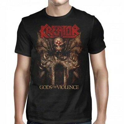 KREATOR - Gods of Violence - T SHIRT S-M-L-XL-2XL Brand New Official T Shirt