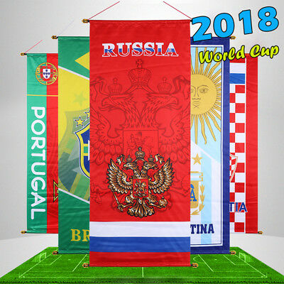 2018 Russia World Cup National Teams flags team logo Decoration posters Hanging