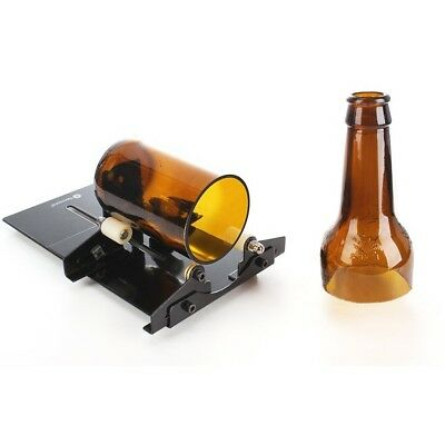 New Glass Bottle DIY Cutter Wine Bottles Jar Cutting Machine Recycle Tool Set