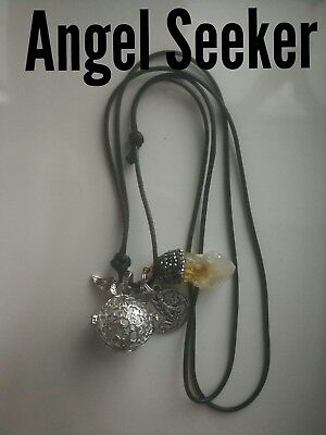 Code 620 Angel Seeker Baby Caller Musical Ball Infused Necklace Pregnancy IVF