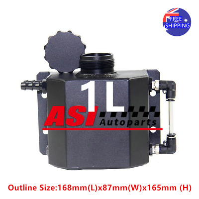 1L Aluminum Radiator Overflow Recovery Water Tank/Can