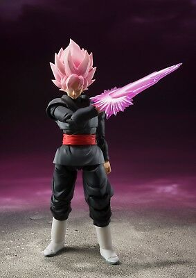Dragon Ball Super S.h Figuarts Goku Gokou Black Rose Figure New