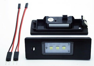 2x LED LICENSE NUMBER PLATE LIGHT BMW E87 CANBUS