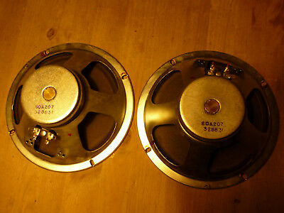 "pair vintage speakers 60s 8"" CTS for guitar/vocals Shure Vocalmaster worldw.ship"