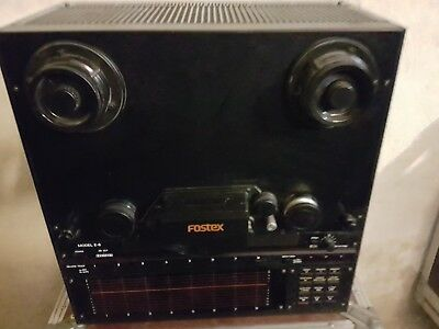 Fostex E 8 Reel To Reel Tape Recorder