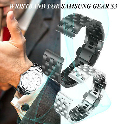 Watch Band Strap Stainless Steel Bracelet For Samsung Gear S3 Classic/ Frontier
