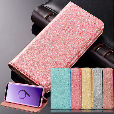 Phone Case Cover for Samsung Galaxy S9 S7 S8 J3 J5 Magnetic Wallet Flip Leather