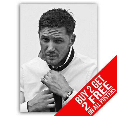 Tom Hardy Bb1 Poster A4 / A3 Size - Buy 2 Get Any 2 Free