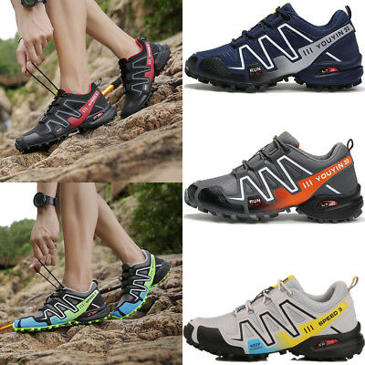 Mens Hiking Shoes Speed cross 3 Athletic Sports Sneakers Outdoor Running Fashion
