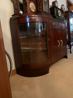 Art Deco Lead Light Credenza