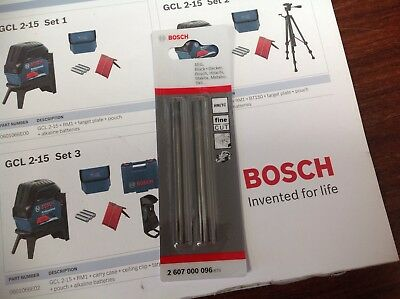 Bosch Planer Blades 2607-000-096 Genuine 82Mm