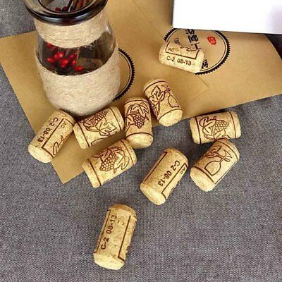 5/15pcs Straight Bottle Wood Corks Wine Stoppers Plug Sealing Caps Bar Tools